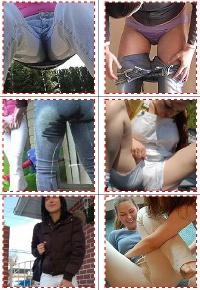 девушки писают штаны видио фото